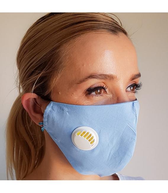masca reutilizabila cu filtru si valva